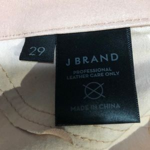J Brand Jeans - NWT J BRAND Lamb Leather Ankle Zip Skinny Jeans